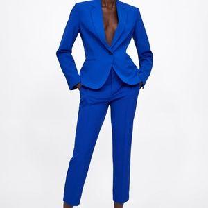 NWT Zara Basic Blazer Suit Set